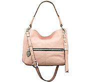 As Is orYANY Italian Grain Leather Shoulder Bag - Rachel - A271323