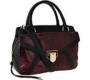 As Is Aimee Kestenberg Pebble Leather Swagger Satchel - Savanah - A274923