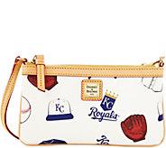 Dooney & Bourke MLB Royals Large Slim Wristlet - A280123