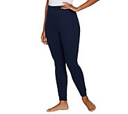 AnyBody Loungewear Cozy Knit Waffle Leggings - A297423