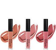 bareMinerals Gen Nude Patent Lip Lacquer Trio - A303623