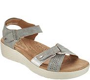 Earth Origins Adjustable Multi Strap Sandals - Gaven - A304223