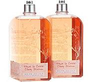 LOccitane Super-size Bath & Shower Gel Duo in Cherry Blossom - A308423