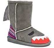 MUK LUKS Kids Finn Shark Boots - A337423