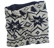 MUK LUKS Womens Reversible Nordic Funnel - A337623