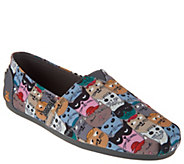 As Is Skechers BOBS Choice of Dog or Cat Slip-On Shoes-Party - A342423