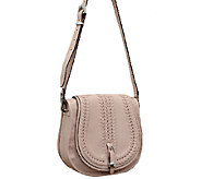 orYANY Amanda Italian Leather Saddle Bag - A261524