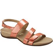 Vionic Orthotic Triple Strap Sandals - Teagan - A263524