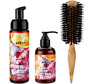 WEN by Chaz Dean Winter White Citrus Styling Duo w/ Brush - A271724