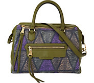 Aimee Kestenberg Tumbled Pebble Leather Satchel - Fiona - A272324