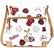 Dooney & Bourke MLB Phillies Crossbody - A280024