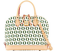 Dooney & Bourke NCAA University of Oregon Zip Zip Satchel - A283224