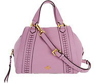 orYANY Pebble Leather Satchel- Elissa - A289724