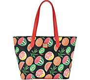 Dooney & Bourke Ambrosia Large Zip Shopper Handbag - A292924