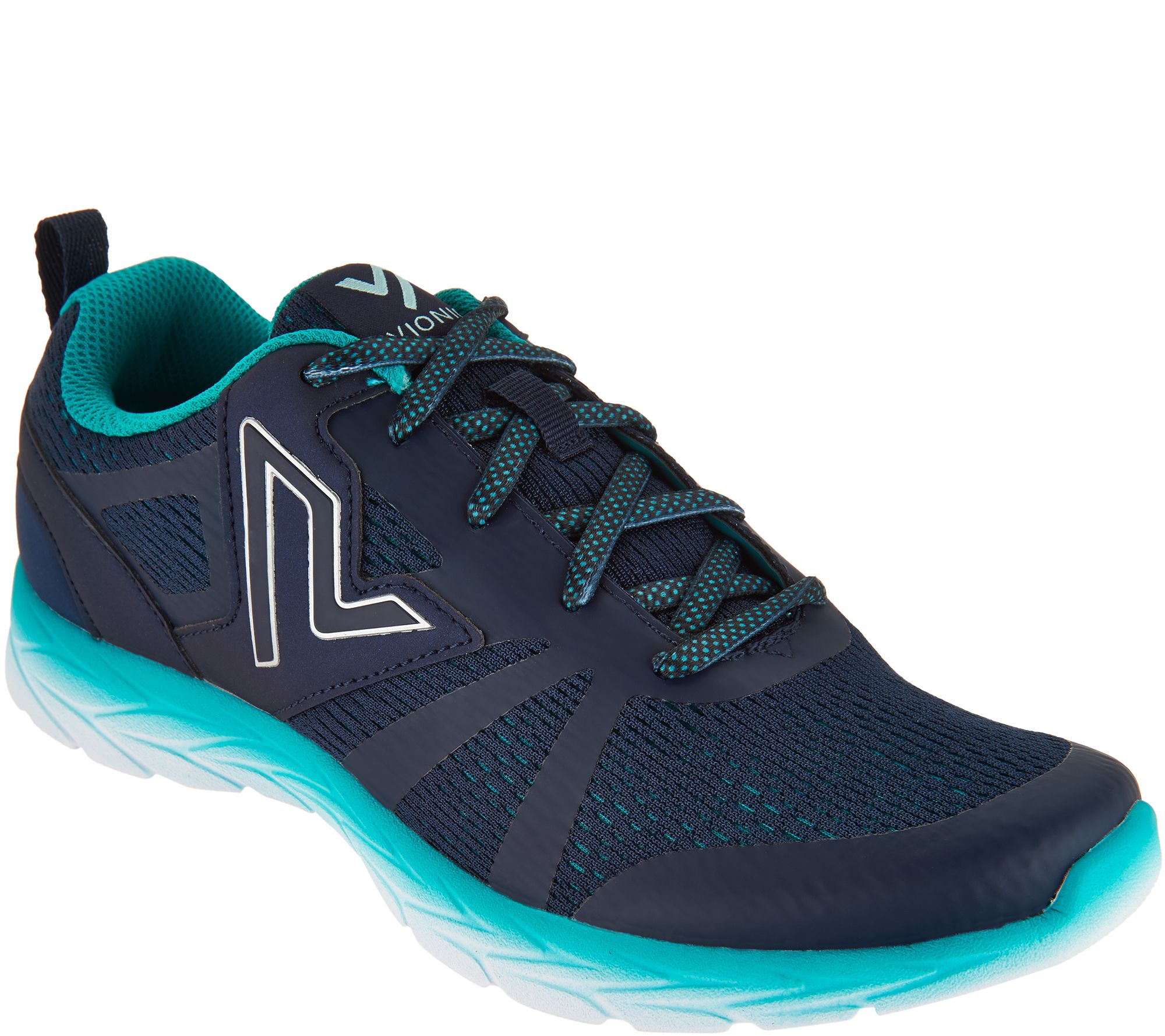 Vionic Orthotic Mesh Lace-up Sneakers - Miles - A293524