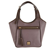 As Is Dooney & Bourke Saffiano Leather Shoulder - A309624