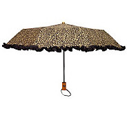 Leighton Womens Compact Auto Open/Close Fashion Umbrella - A327424