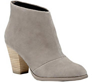 Sole Society Mid-Heel Leather Ankle Boots - Devyn - A362124