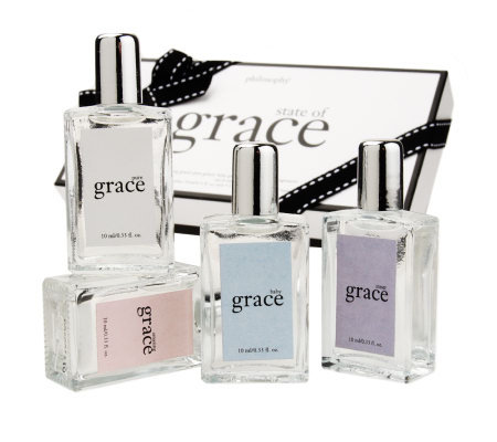 philosophy state of grace fragrance wardrobe 4-pc. gift set