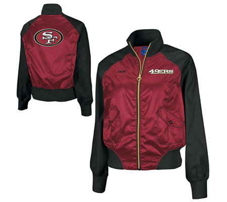 NFL San Francisco 49ers Women's Satin Jacket