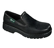 Eastland Leather Slip-ons with Lug Sole - Newport Black - A183425