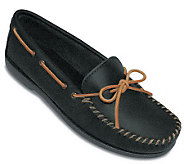 Minnetonka Mens Leather Camp Moccasins - A208725