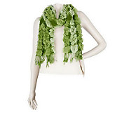 Layers by Lizden Bubble Wrap Scarf with Fringe - A222025
