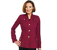 As Is Joan Rivers Easy Elegance Knit Jacket - A232525