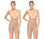 Spanx Higher Power Extended Length and Regular Length 2 Pack - A235425