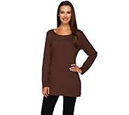 Liz Claiborne New York Essentials Long Sleeve Knit Tunic - A237925