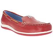 White Mountain Coast Leather Slip-on Moccasins - A240825
