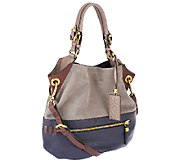 orYANY Sydney Suede and Leather Hobo - A256425