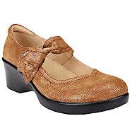 Alegria Leather Mary Jane Wedges - Ella - A258225
