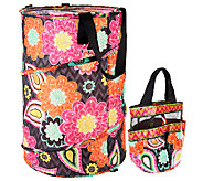 Vera Bradley Shower Caddy and Pop Up Laundry Bag - A258425