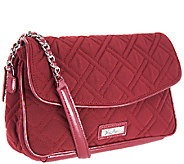 Vera Bradley Microfiber Chain Shoulder Bag - A259725