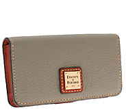 Dooney & Bourke Pebble Leather Phone and Credit Card Case - A263125