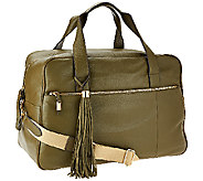 G.I.L.I. Leather Weekender Bag - A266525