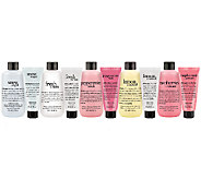 philosophy 10 pc happy holidays shower gel & hand cream set - A274025