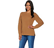 Linea Leisure by Louis DellOlio Ribbed Sweater - A279525