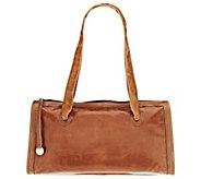 As Is Hobo Leather Frida East/West Shoulder Bag - A283125