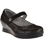 Alegria Leather Mary Janes - Flair - A284125