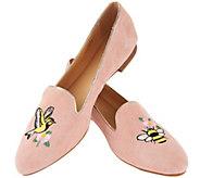 C. Wonder Birds & Bees Suede Loafers - Clarissa - A288325