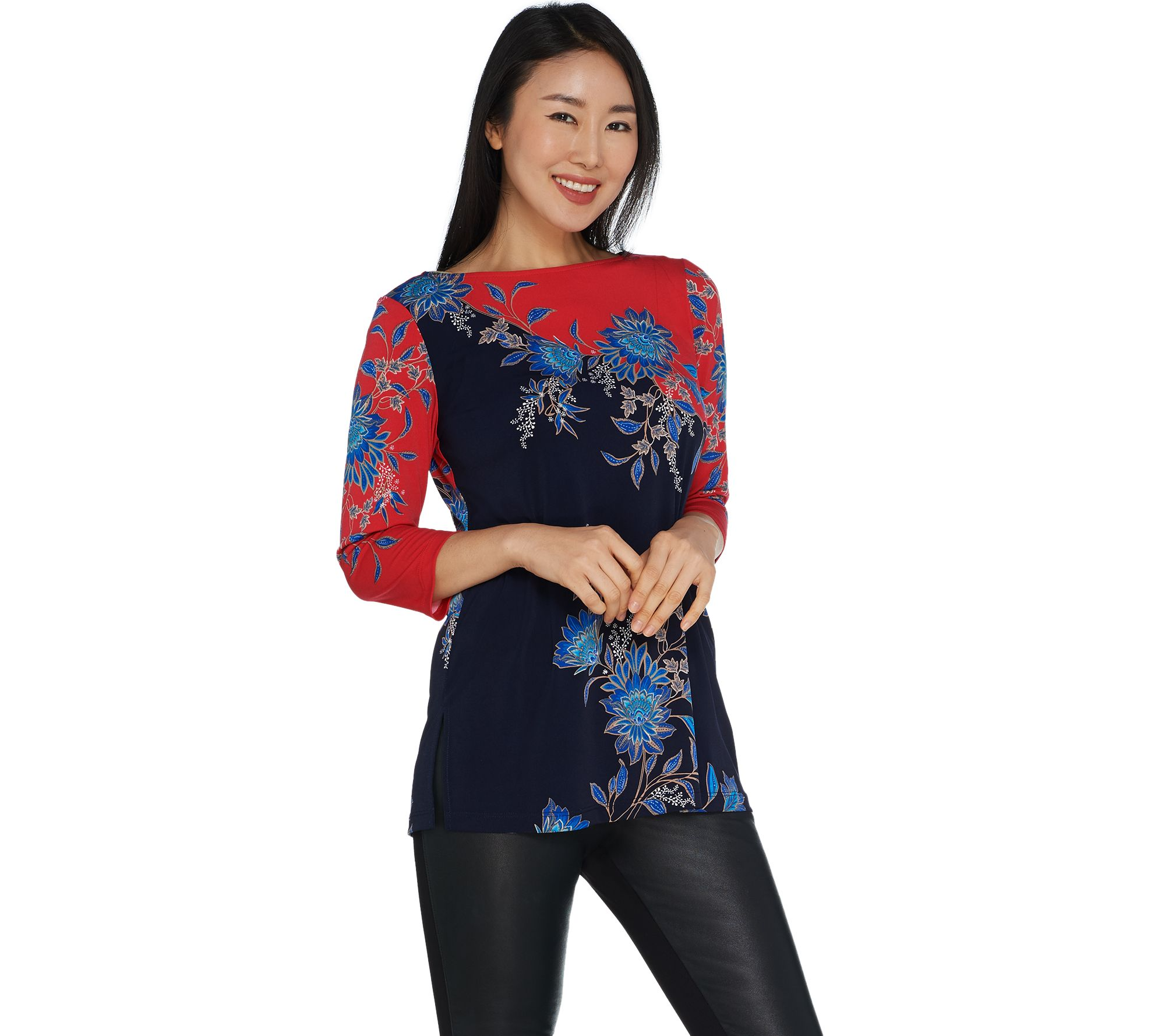 susan graver — blouses & tops — fashion — qvc