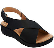 Spenco Orthotic Cross-Band Wedges - Marfa - A304825