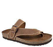 Heritage by White Mountain Leather Thong Sandals - Carly - A336525
