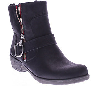 Spring Step Leather Ankle Boots - Chickadee