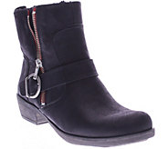 Spring Step Leather Ankle Boots - Chickadee - A338125
