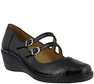Spring Step Patent Leather Mary Janes -  Thorny - A341425