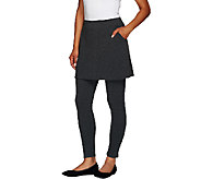 Legacy French Terry Ankle Length Skirted Leggings - A55625