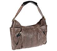orYANY Emma Anaconda Leather Shoulder Bag - A256426